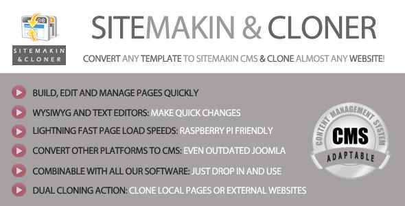Site Cloner PHP Script