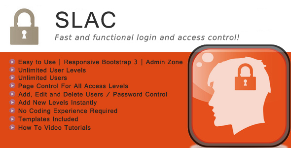Site Login and Access Control PHP Script
